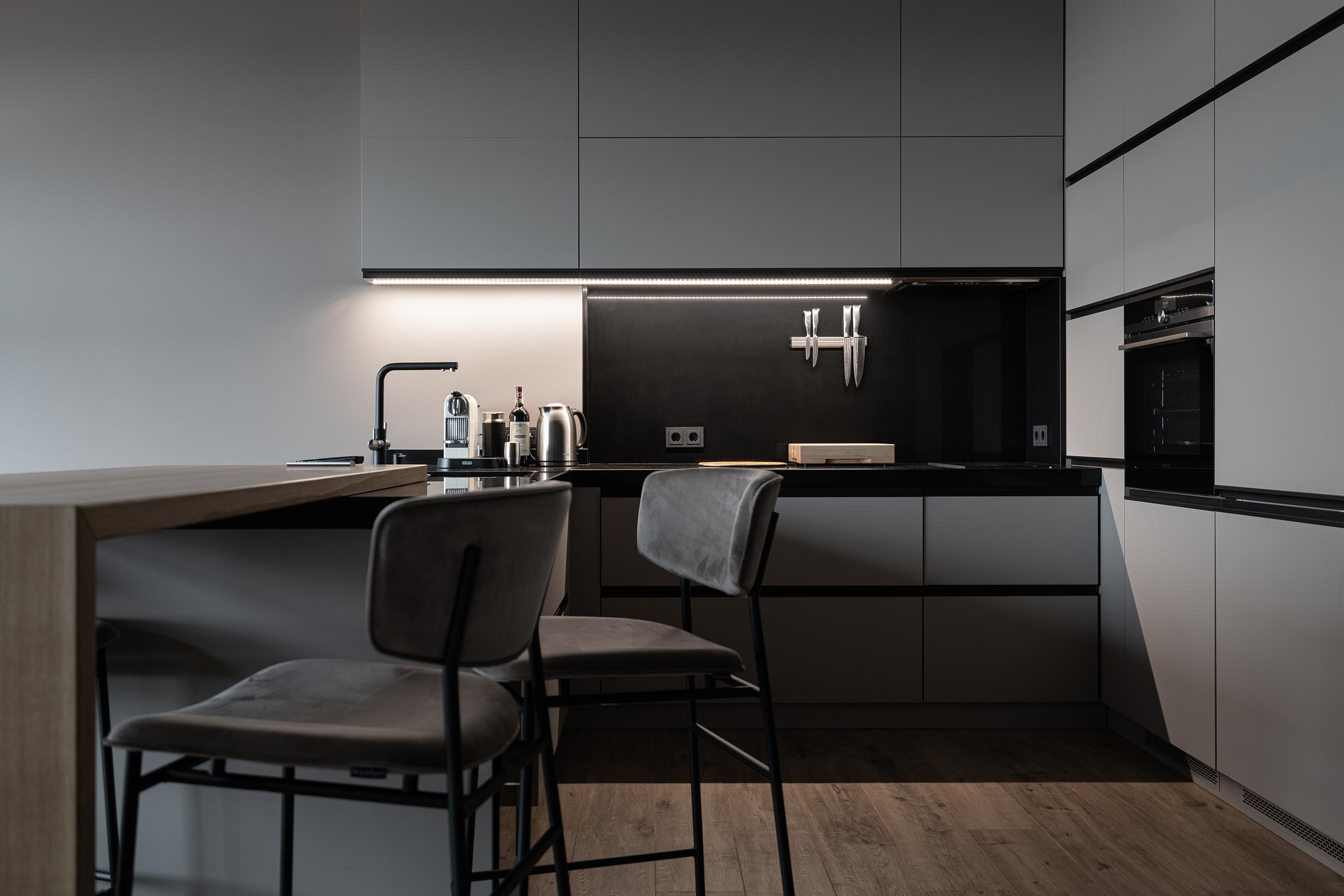 Интерьерная фотография кухни