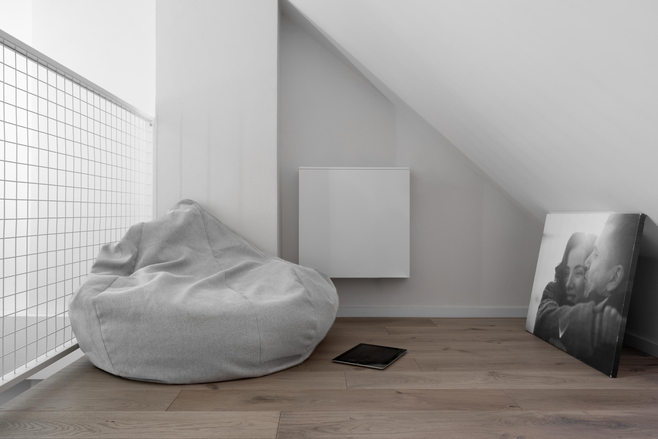 Фотосъемка интерьера уютного места для чтения
