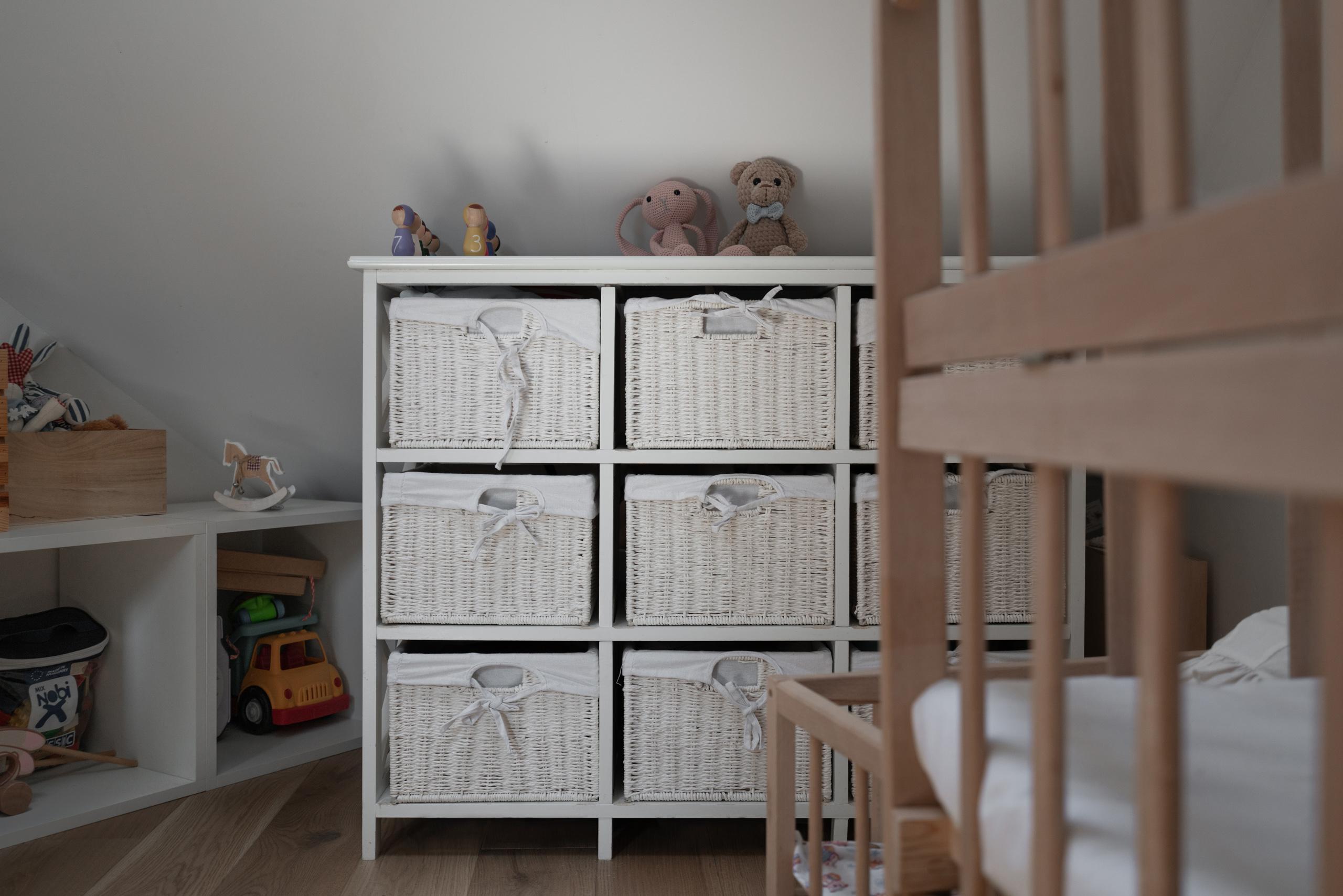 Фотосъемка интерьера детской крупным планом