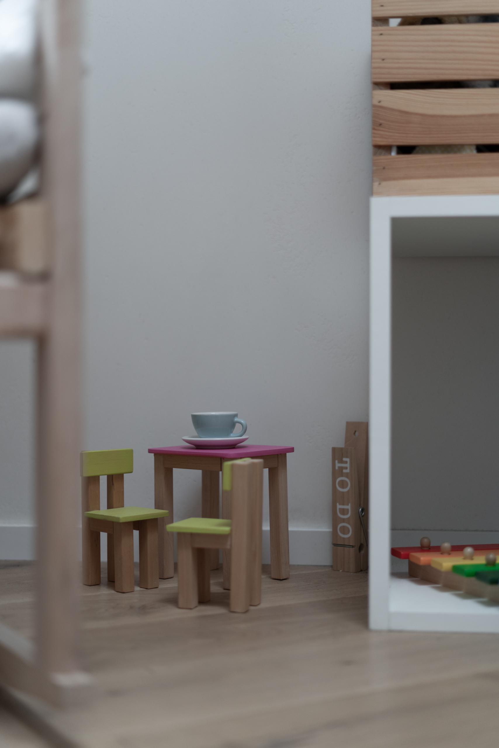 Фотосъемка интерьера детской детали крупным планом