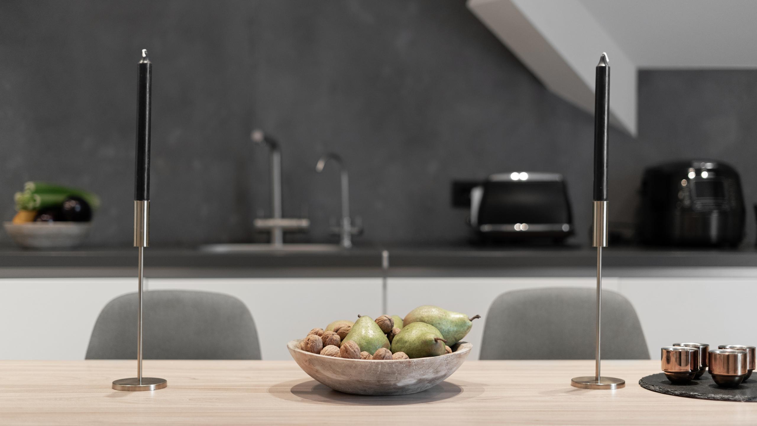 Фотосъемка интерьера кухонного стола