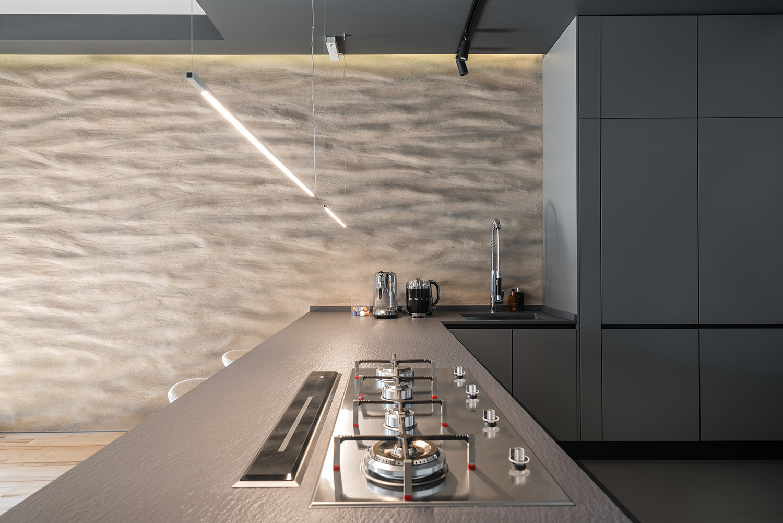 Фотосъемка интерьера кухни приватной квартиры