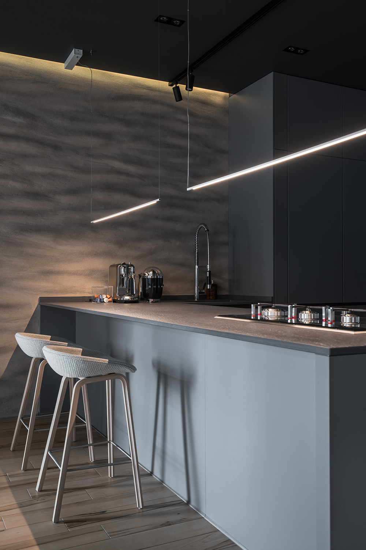 Фотосъемка интерьера кухни