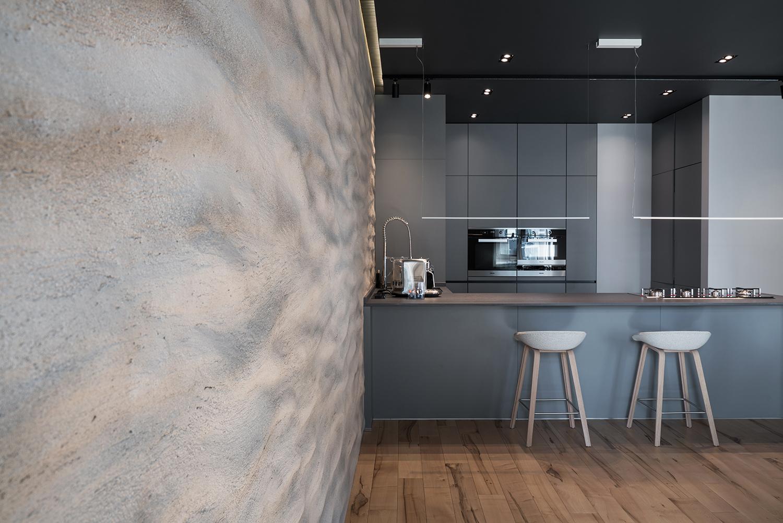Фотосъемка интерьера кухни VIP квартиры