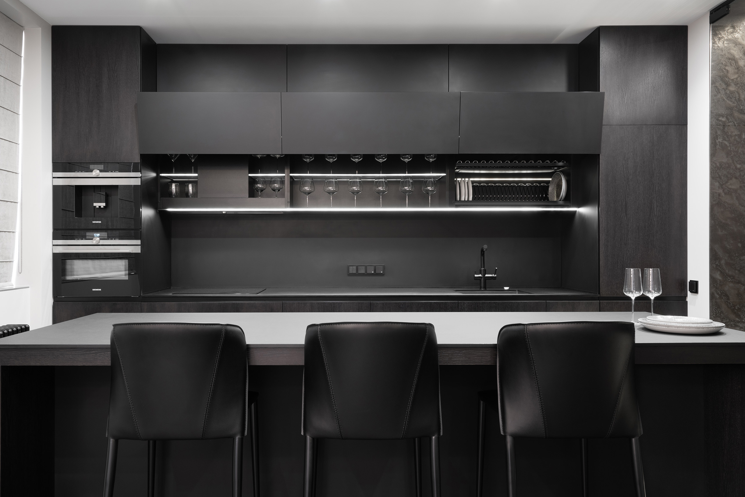 Фотосъемка интерьера кухни в квартире