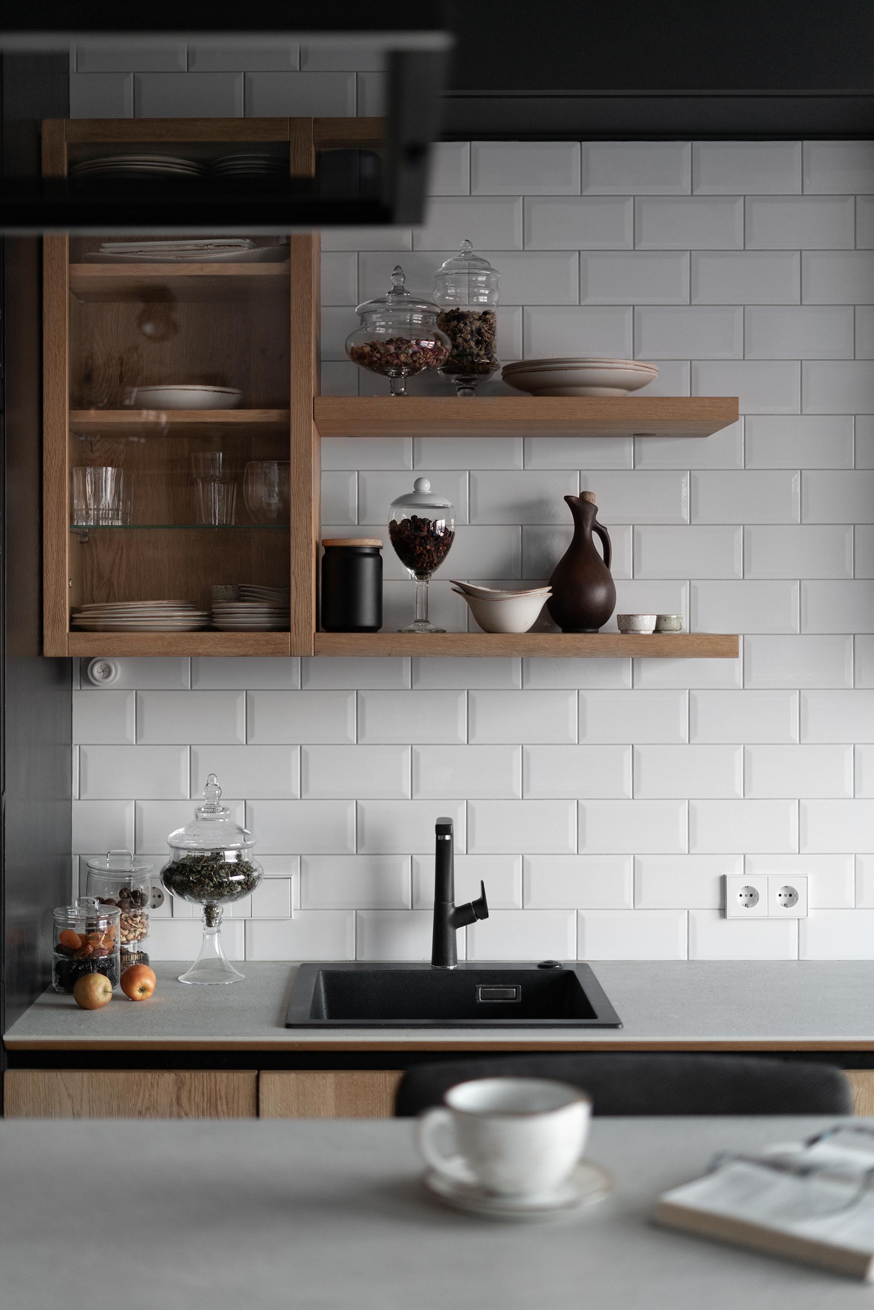 Фотосъемка интерьера кухни Авангард