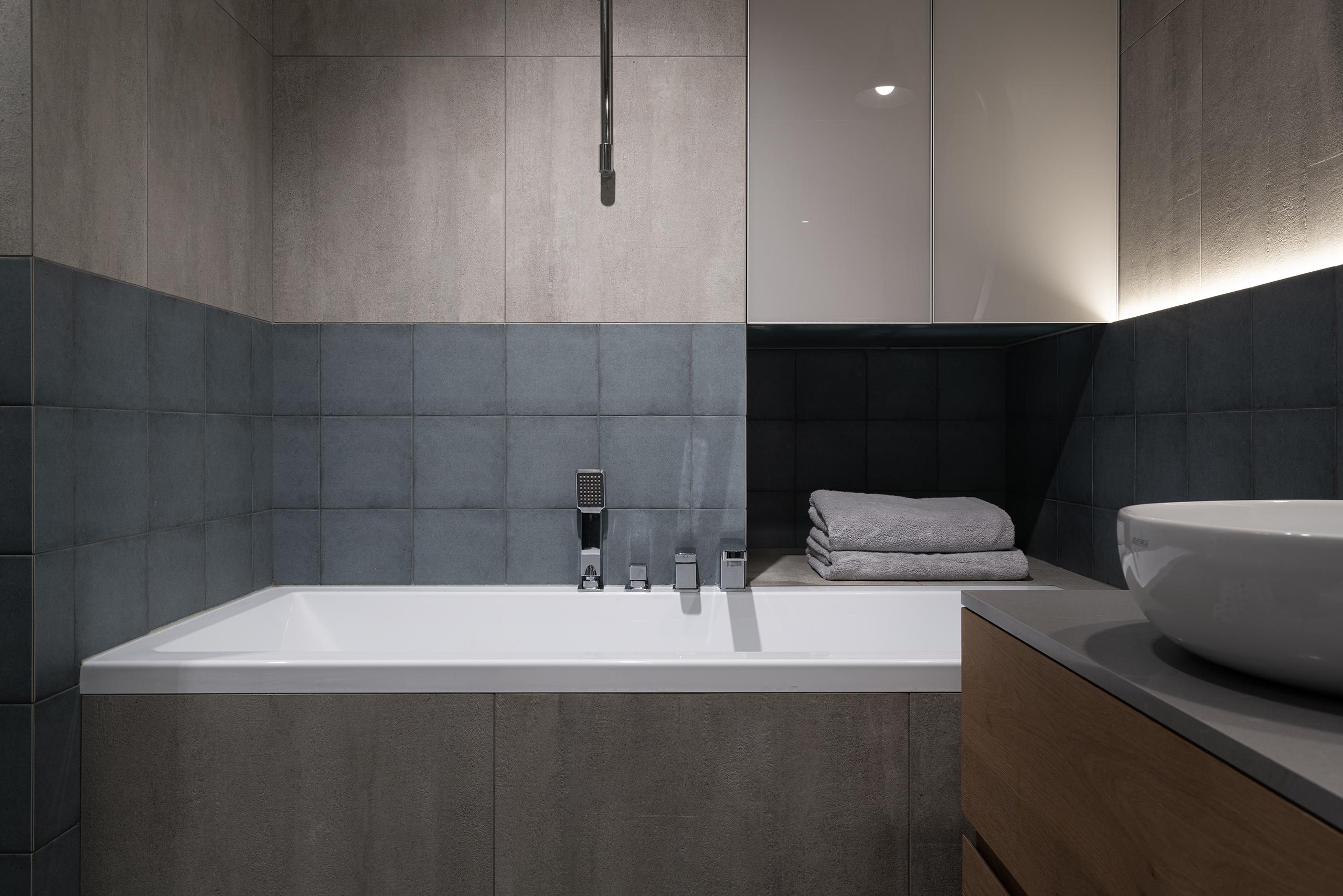Фотосъемка интерьера ванной комнаты проект Авангард
