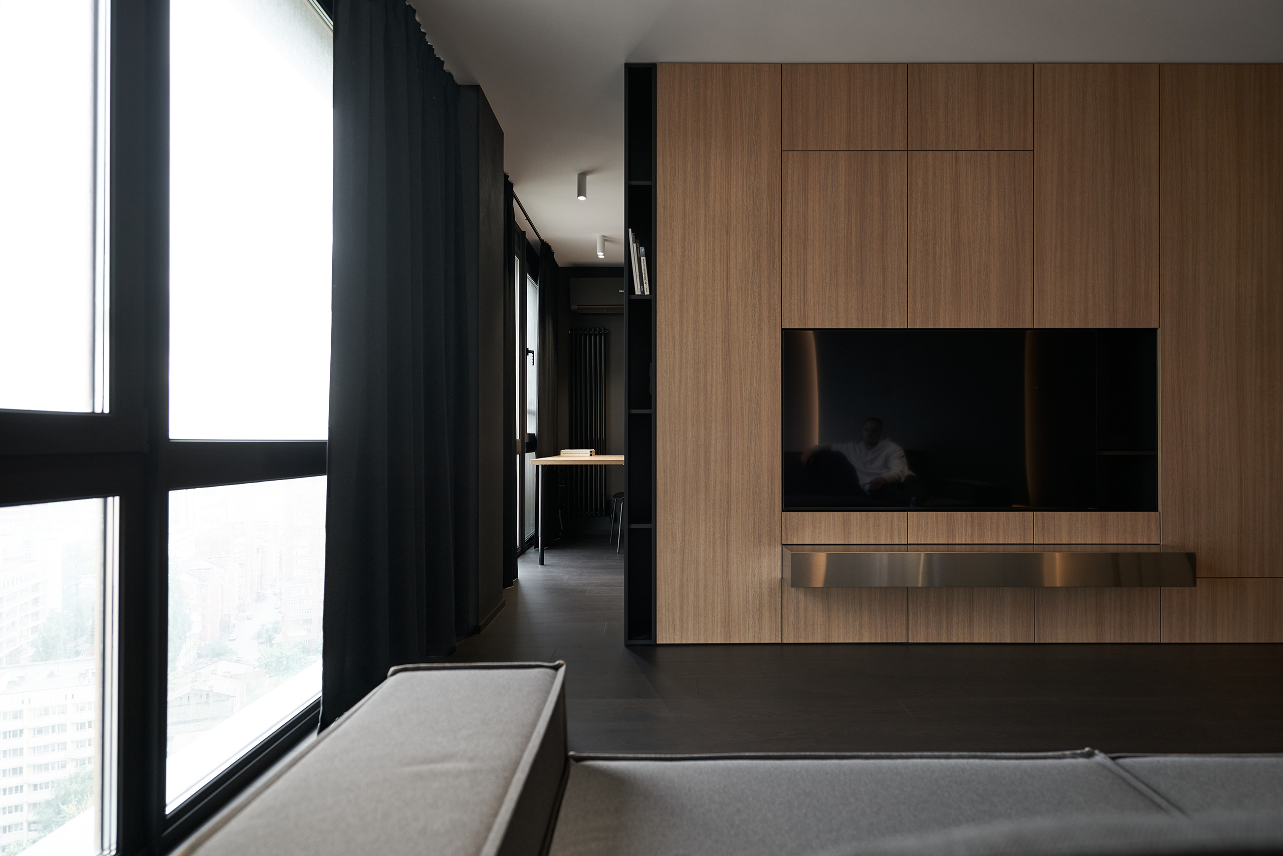 Фотосъемка интерьера гостиной Hoffman